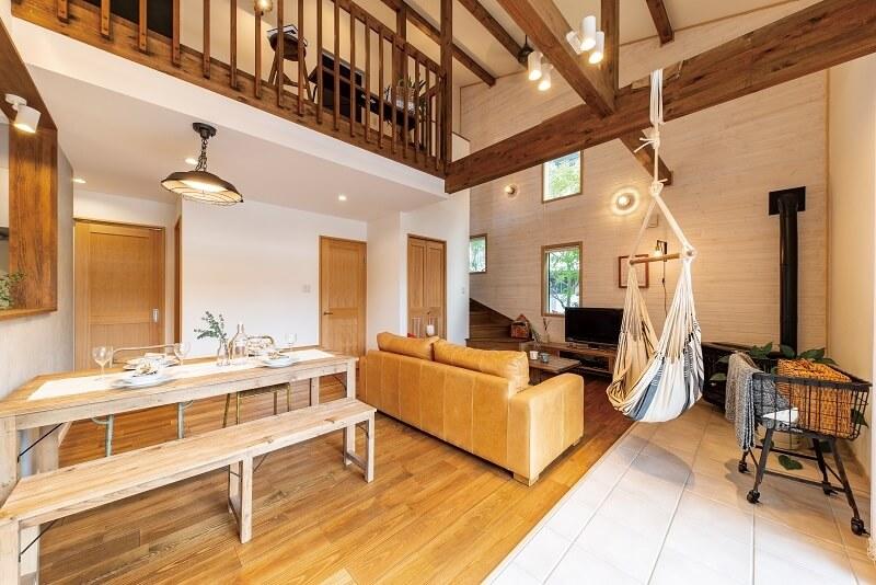 気持ちのいい木の家|愛知県安城市 暮らしのお店ハンモックのある暮らし