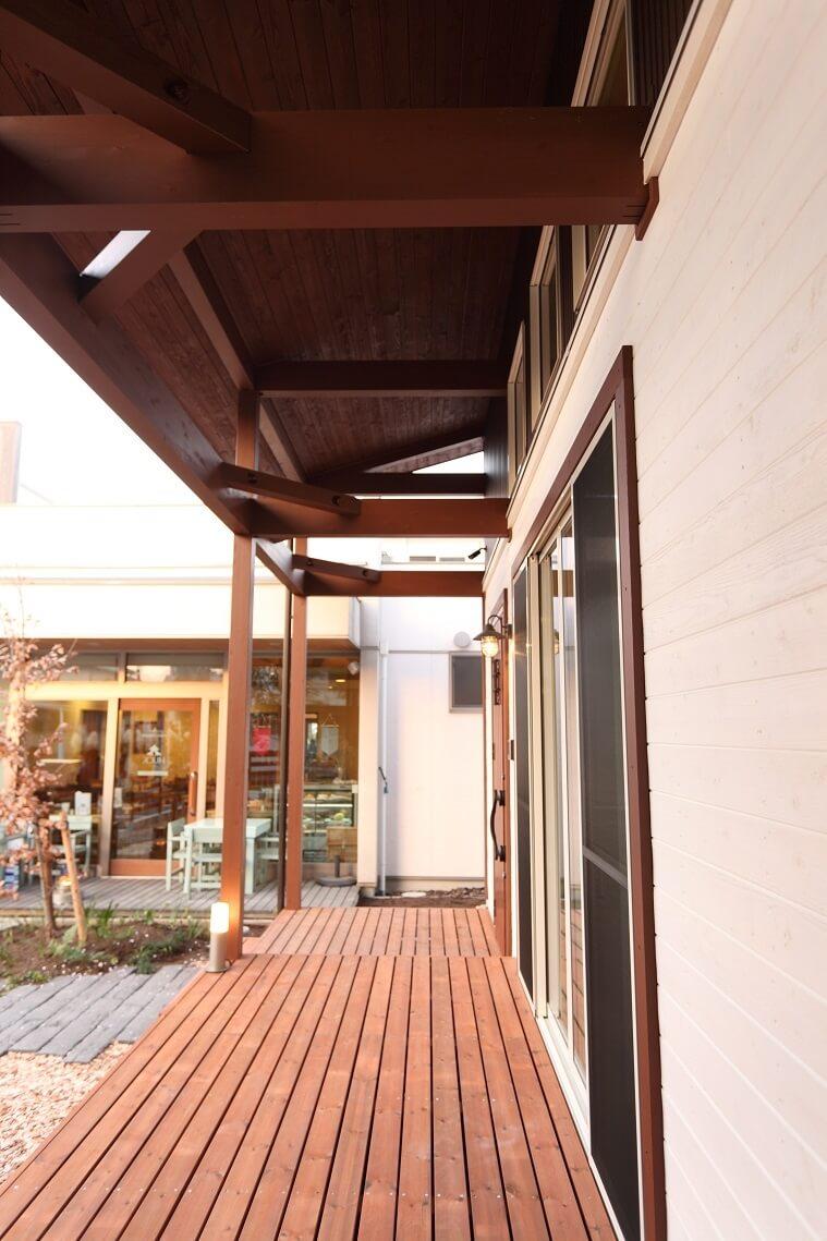 気持ちのいい木の家|愛知県安城市 暮らしのお店フロントポーチ!