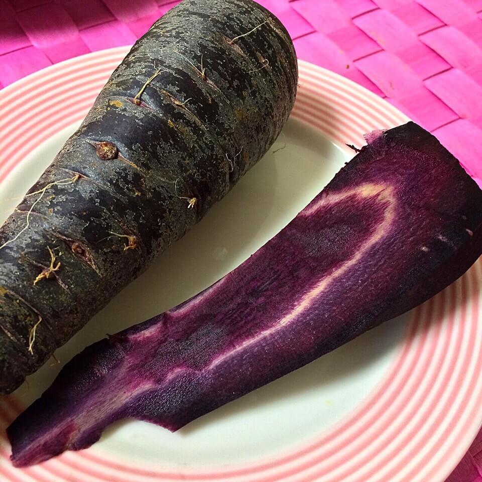 野菜がおいしいごはん|愛知県安城市 暮らしのお店野菜の紹介です【くろにんじん】